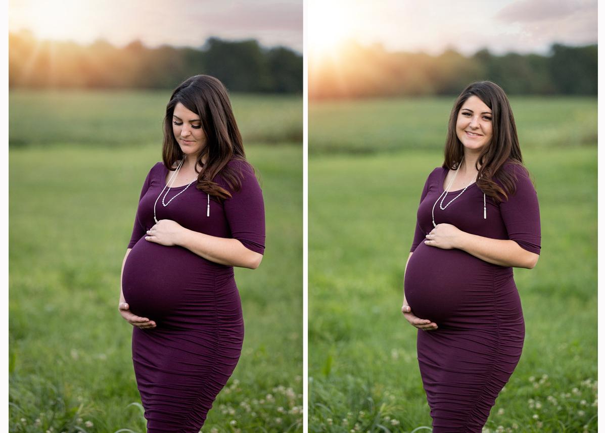 brighton michigan maternity photographer