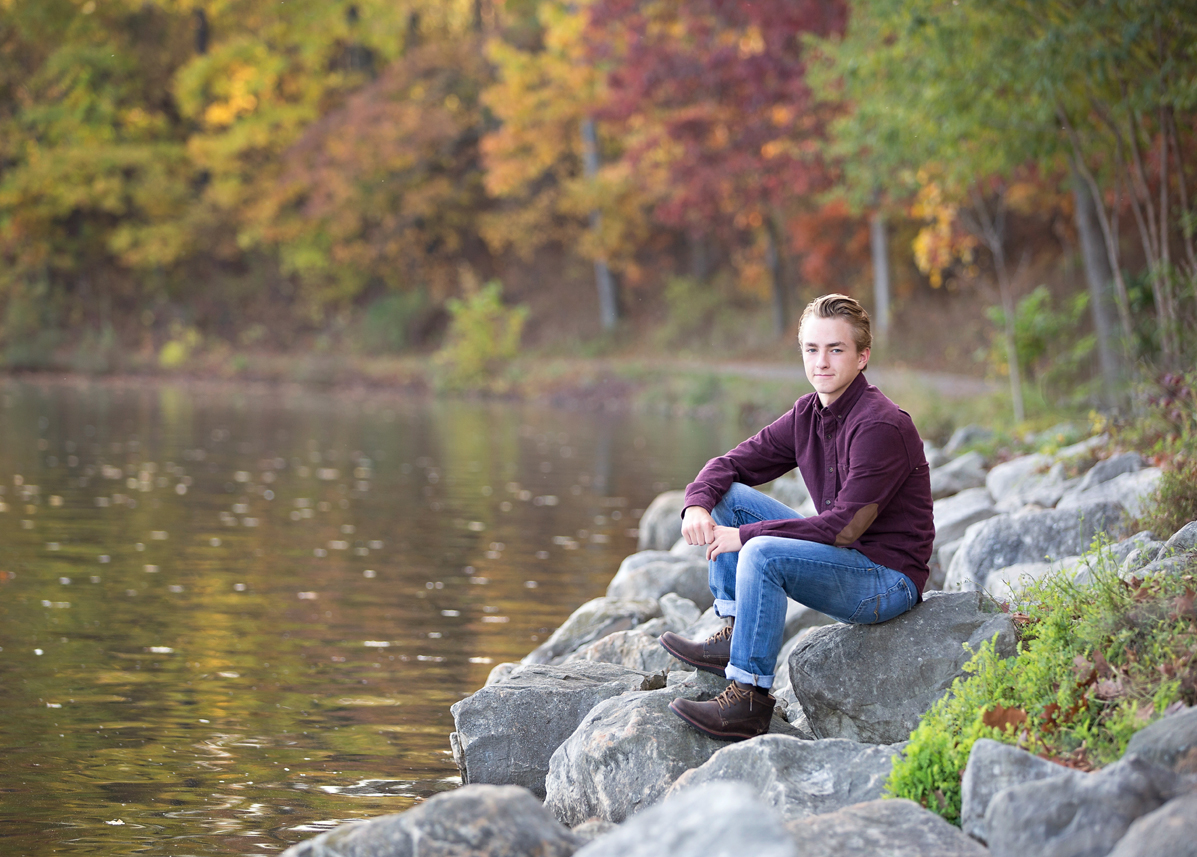 brighton michigan senior portraits photographer