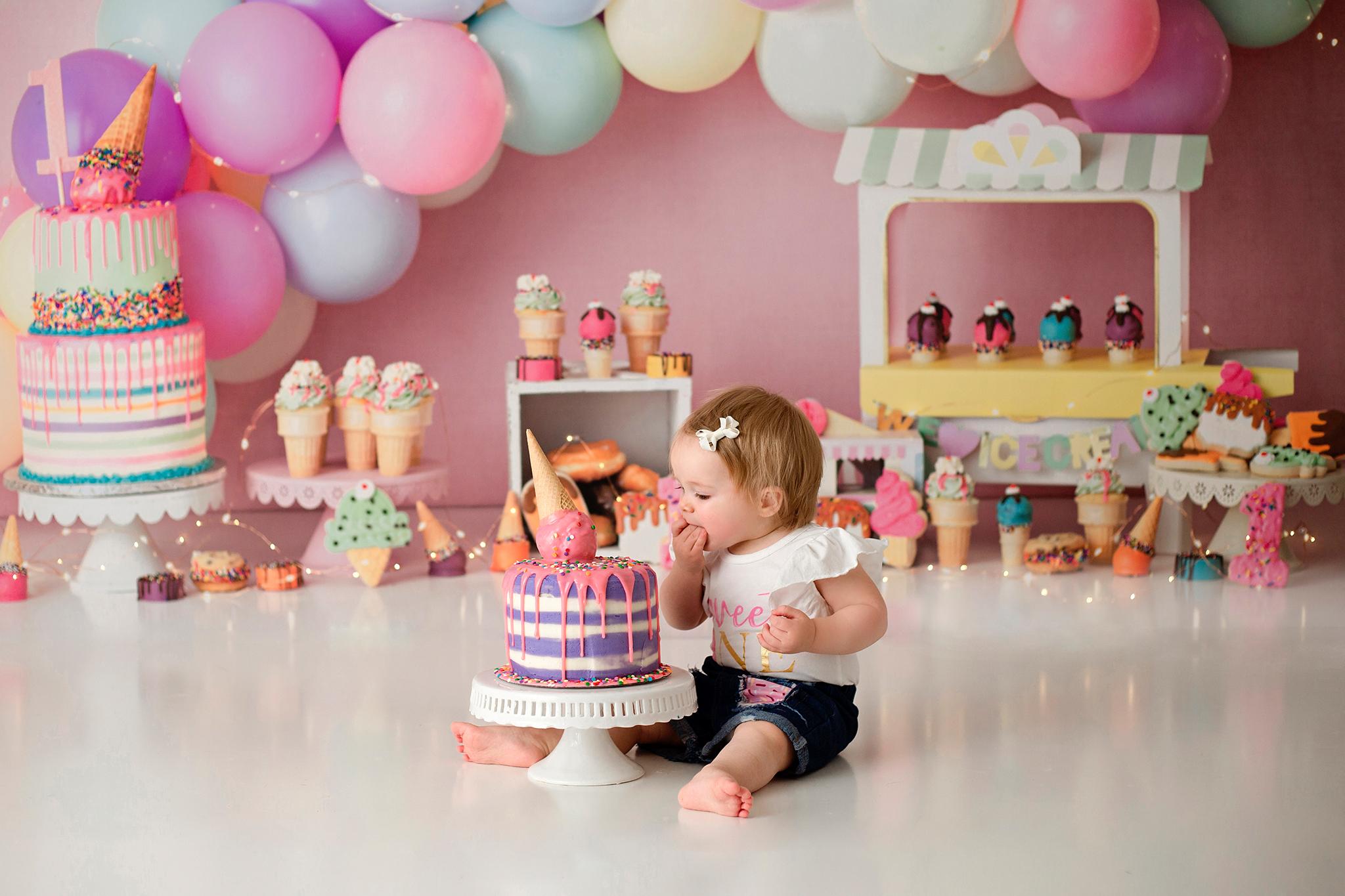 cake smash photographer howell michigan 2021