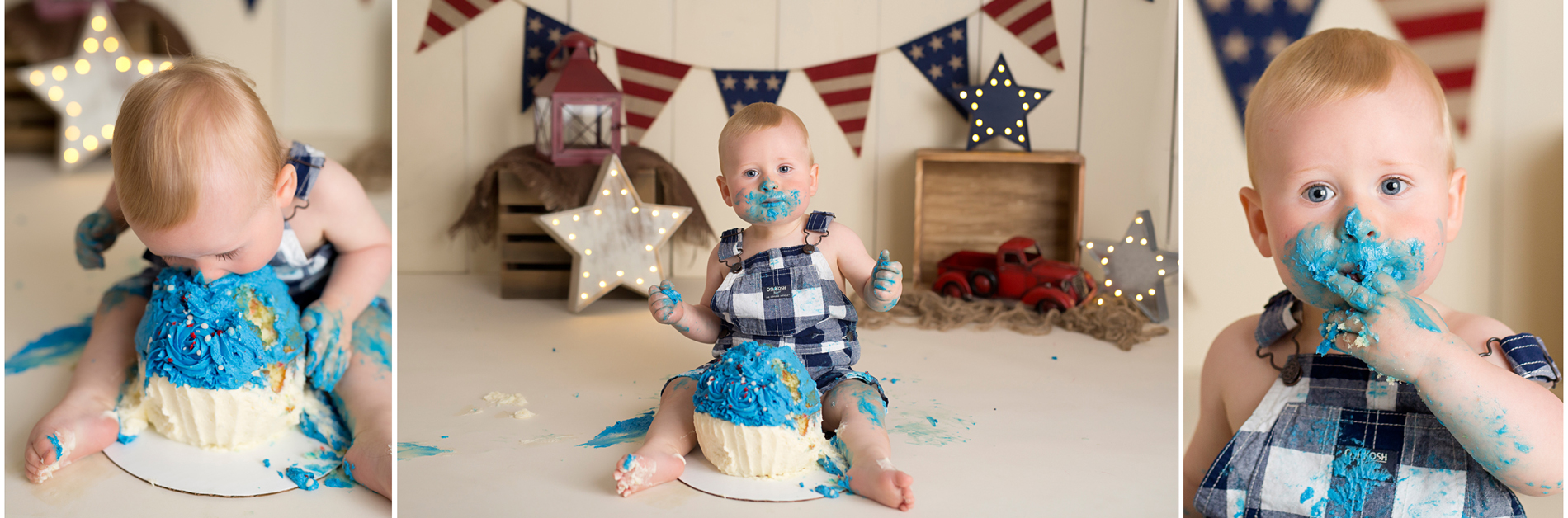 brighton howell michigan cake smash photographer one year photos south lyon 2