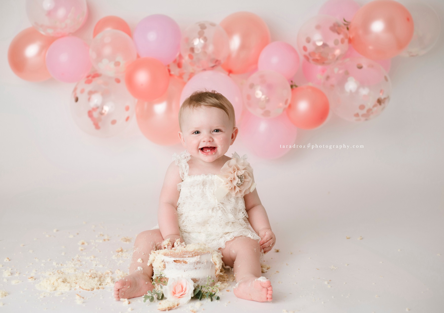 Elowyn One Year Cake Smash